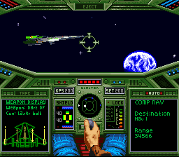 Wing Commander (Japan) In game screenshot