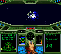 Wing Commander (USA) In game screenshot