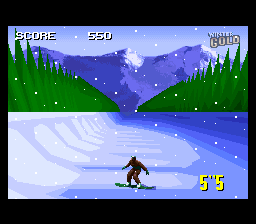 Winter Gold (Europe) In game screenshot