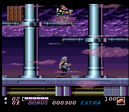 Wolfchild (USA) In game screenshot
