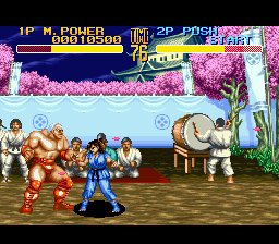 World Heroes 2 (Japan) In game screenshot