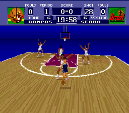 World League Basketball (Europe) In game screenshot