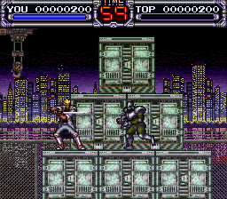 X-Kaliber 2097 (USA) (Beta) In game screenshot