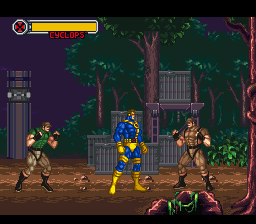 X-Men - Mutant Apocalypse (Europe) In game screenshot