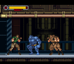 X-Men - Mutant Apocalypse (USA) In game screenshot