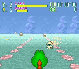 Yoshi's Safari (Europe) In game screenshot