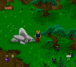 Young Merlin (Europe) In game screenshot