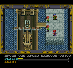 Ys IV - Mask of the Sun (Japan) In game screenshot