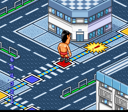 Zen-Nihon Pro Wrestling - Fight da Pon! (Japan) In game screenshot