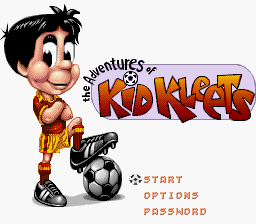 Adventures of Kid Kleets, The (USA) (En,Fr,Es) Title Screen