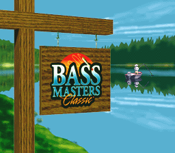 BASS Masters Classic (Japan) Title Screen