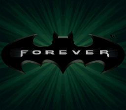 Batman Forever (Japan) Title Screen