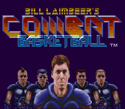 Bill Laimbeer's Combat Basketball (USA) Title Screen
