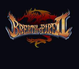 Breath of Fire II (Europe) Title Screen