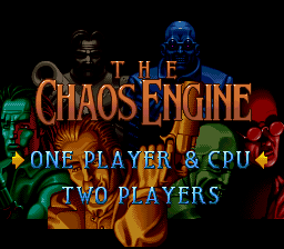 Chaos Engine, The (Europe) Title Screen