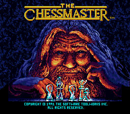 Chessmaster, The (Japan) Title Screen