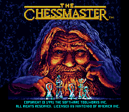Chessmaster, The (USA) Title Screen