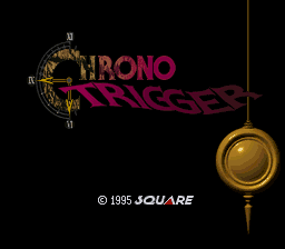 Chrono Trigger (Japan) Title Screen