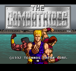 Combatribes, The (Japan) Title Screen