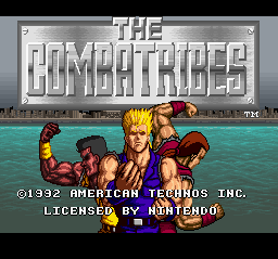Combatribes, The (USA) Title Screen