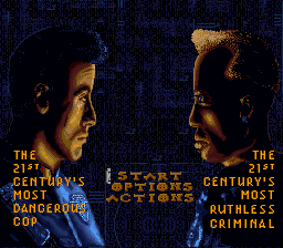 Demolition Man (USA) Title Screen