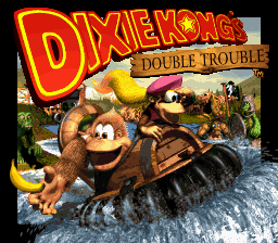 Donkey Kong Country 3 - Dixie Kong's Double Trouble! (Europe) (En,Fr,De) Title Screen