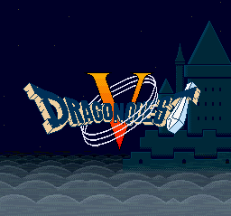 Dragon Quest V - Tenkuu no Hanayome (Japan) Title Screen