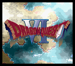 Dragon Quest VI - Maboroshi no Daichi (Japan) Title Screen
