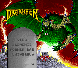 Drakkhen (Germany) Title Screen