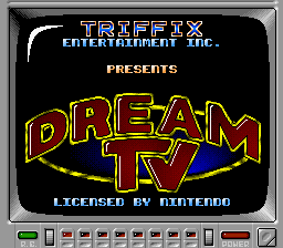 Dream TV (USA) Title Screen
