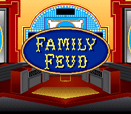 Family Feud (USA) Title Screen
