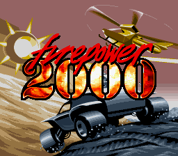 Firepower 2000 (USA) Title Screen