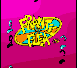 Frantic Flea (Europe) (Beta) Title Screen