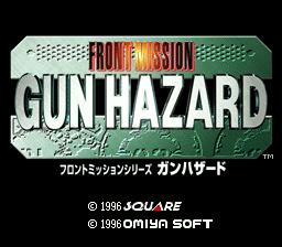 Front Mission Series Gun Hazard Japan Rom Snes Roms