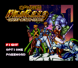Jim Lee's WildC.A.T.S - Covert Action Teams (USA) Title Screen