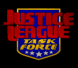 Justice League Task Force (USA) Title Screen