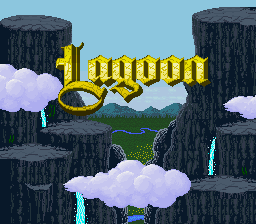 Lagoon (Europe) Title Screen