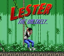 Lester the Unlikely (USA) Title Screen