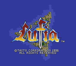 Lufia (Spain) Title Screen