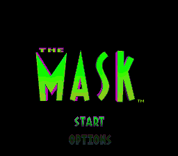 Mask, The (USA) Title Screen
