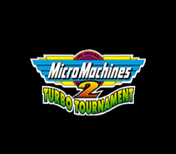 Micro Machines 2 - Turbo Tournament (Europe) Title Screen