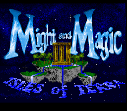 Might and Magic III - Isles of Terra (USA) (Beta) Title Screen