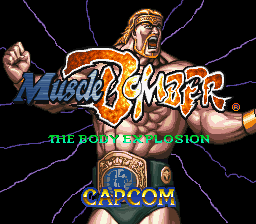 Muscle Bomber - The Body Explosion (Japan) Title Screen