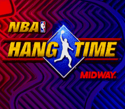 NBA Hang Time (USA) Title Screen