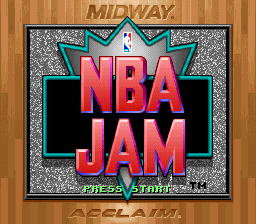 NBA Jam (Japan) Title Screen