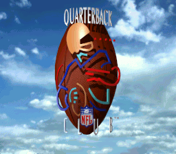 NFL Quarterback Club (Japan) Title Screen