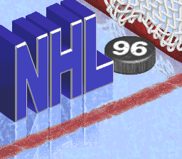 NHL '96 (USA) Title Screen