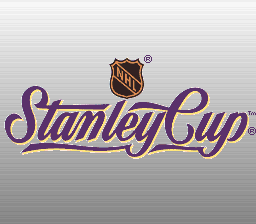 NHL Stanley Cup (USA) (En,Fr) Title Screen