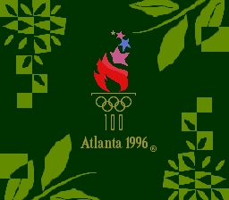 Olympic Summer Games (USA) Title Screen