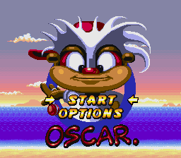 Oscar (USA) Title Screen